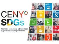 Ceny SDGs - ve znamení boje za udržitelnou budoucnost