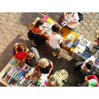 Uspořádejte s námi benefiční bazar knih 16/9 na Zažít město jinak v Praze!