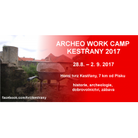 ARCHEO WORK CAMP KESTŘANY 2017
