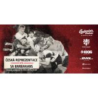 Ragby- utkání Česká republika vs. South Africa Barbarians