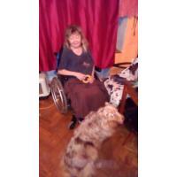 Pomoc s vyvenčením asistenčního psa Míši a uložením ke spaní