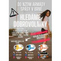 NZDM Armády spásy v Brně hledají dobrovolníky!