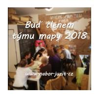 Členem týmu mapy USE-IT Prague 2018