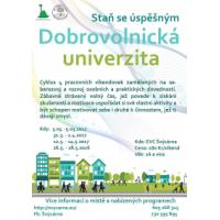 Dobrovolnická univerzita - Staň se úspěšným