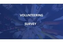 Průzkum o dopadech dobrovolnictví.