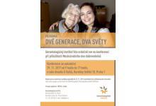 Pozvánka na konferenci k mezigeneračnímu dobrovolnictví. DVĚ GENERACE, DVA SVĚTY.
