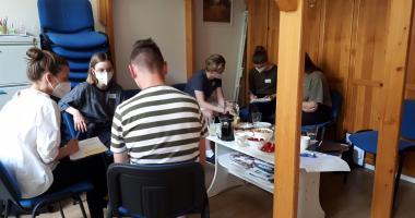 Vstupní vzdělávání dobrovolníků v Dobroduši - práce s lidmi s duševním onemocněním