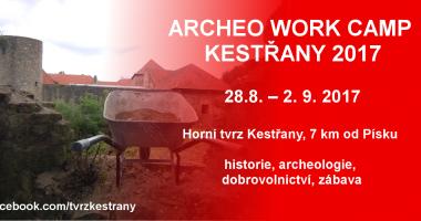ARCHEO WORK CAMP KESTŘANY 2017