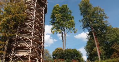 Národní památkový ústav hledá dobrovolníky při rekonstrukci věže Jakobínka v Rožmberku