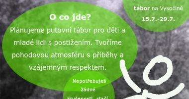 Puťák, dobrovolnický zážitkový tábor 15. - 29.7. 2017