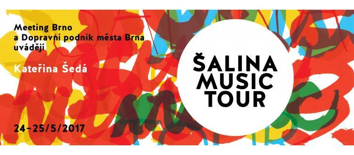 DOPROVOD PRO MUZIKANTY ŠALINA MUSIC TOUR!