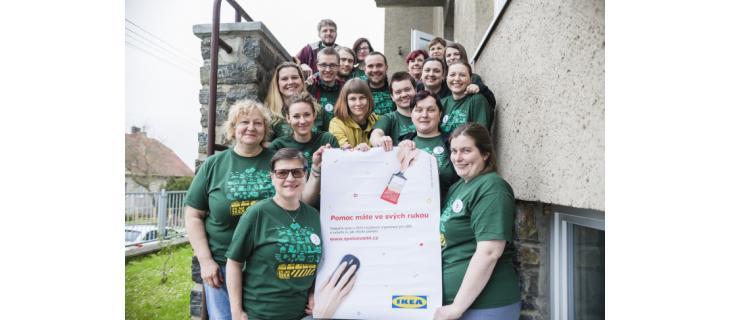 IKEA Spolu s vámi pomáhá dětem