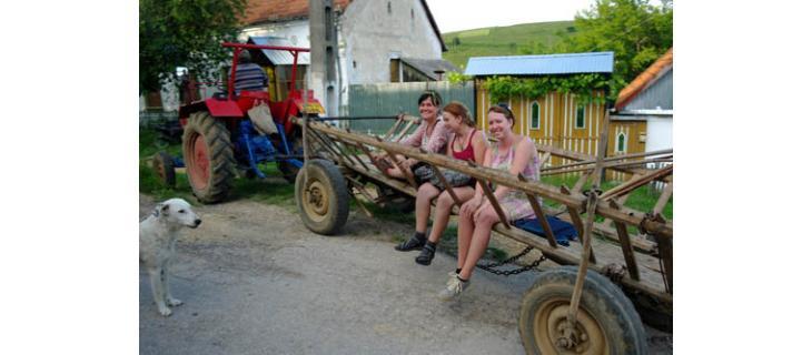 Pomoc k krajanských vesnicích v Rumunsku-Banátu